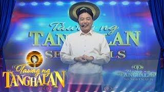 Tawag ng Tanghalan: Ryan Bang alone on Tawag ng Tanghalan stage