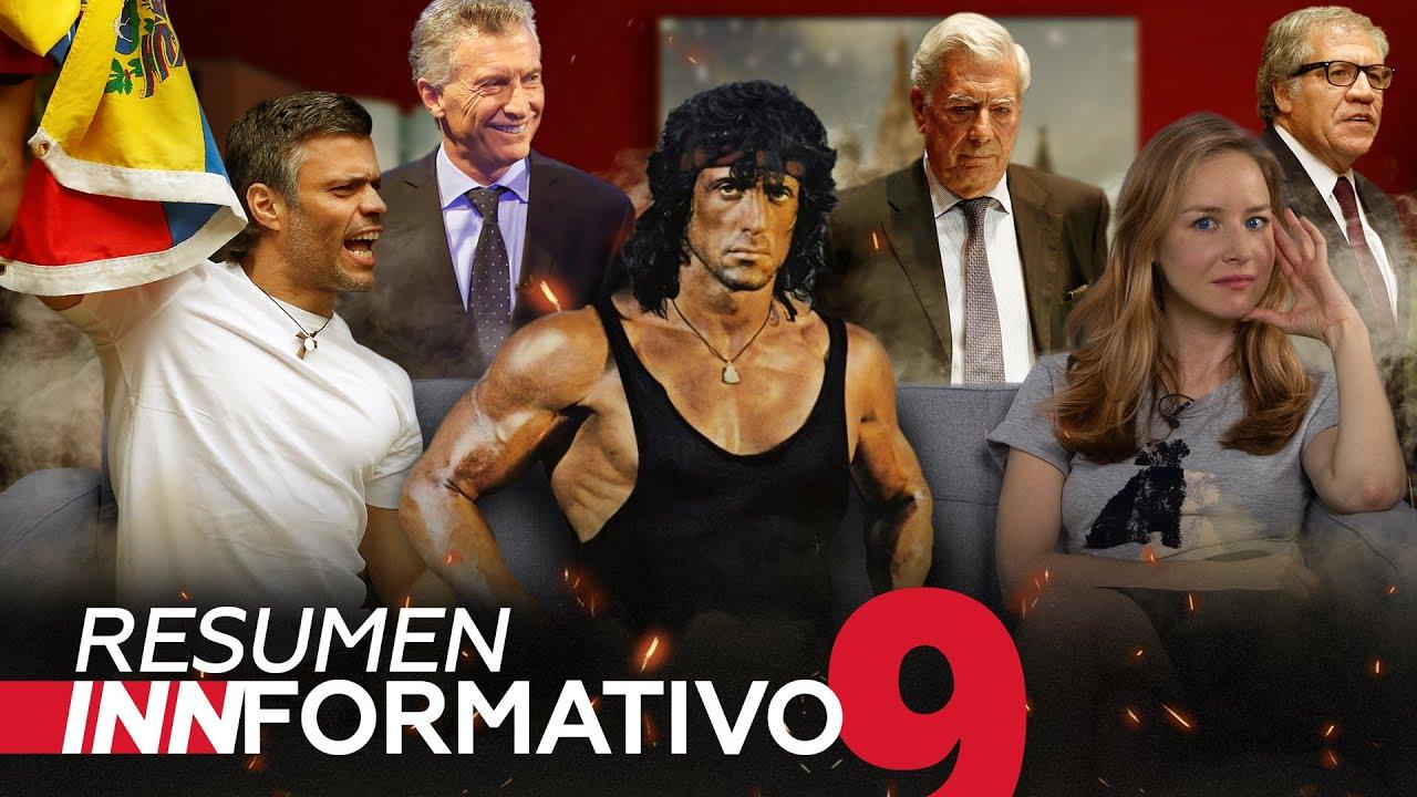 El 'huésped' Leopoldo López contrata mercenarios, Rambo más verosímil que CNN y mucho más