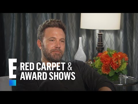 Ben Affleck Talks Co-Parenting With Jennifer Garner | E! Live from the Red Carpet
