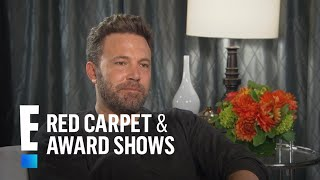 Ben Affleck Talks Co-Parenting With Jennifer Garner | E! Live from the Red Carpet