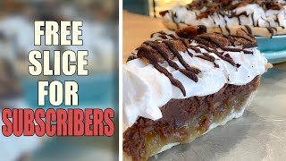 ❤️Free Slice of Pie For Subscribers! (Feb 25th)❤️