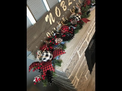 Buffalo Plaid Garland By A Noble Touch