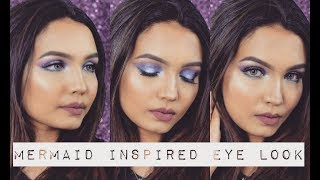 Mermaid Inspired Eyeshadow | White House Cosmetics Eyeshadow Palette Review | Makeup Majesty