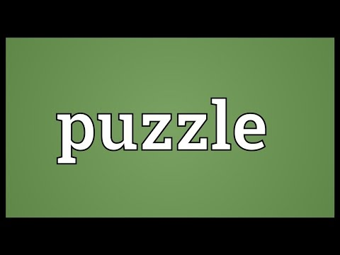 Puzzle Meaning