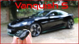 Just how good does the V12 Vanquish S sound in a tunnel ?