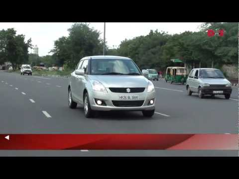2011 Maruti Suzuki Swift video review and road test by dwsAuto.com