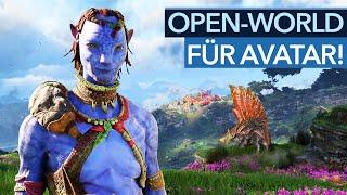 Avatar mit High-End-Technik - aber WAS muss die Open World bieten?