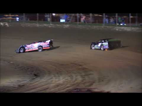 Limited Late Model Heat #2 from Portsmouth Raceway Park, August 18th, 2018.