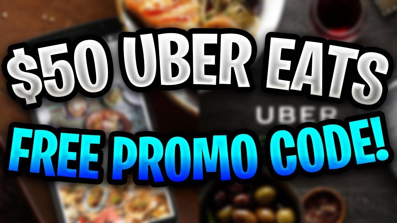 Uber Eats Promo Code 2019 ✅ Free $50 Uber Eats Promo Code Working in 2019! ✅