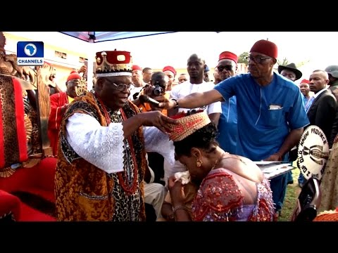 Metrofile: Wife Of Anambra State Governor Honoured With Chieftaincy Title