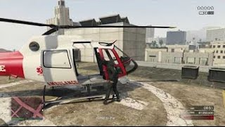 GTA 5 Online - NEW Pacific Standard Heist Money Glitch Using Hospital Helicopter [PS4 & Xbox One]