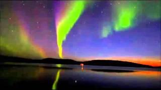 Revontulet / Northern Lights /  Inari Ukonjärvi 11.9.2015