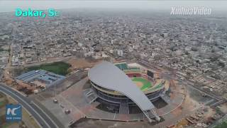 Largest in Africa! Chinese-built wrestling stadium helps Senegal promote national sport