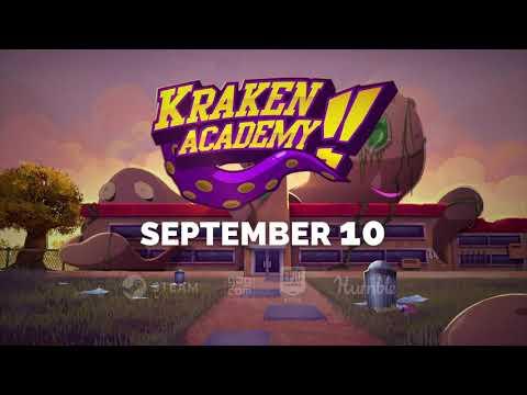 Kraken Academy Launch Date Announcement Trailer