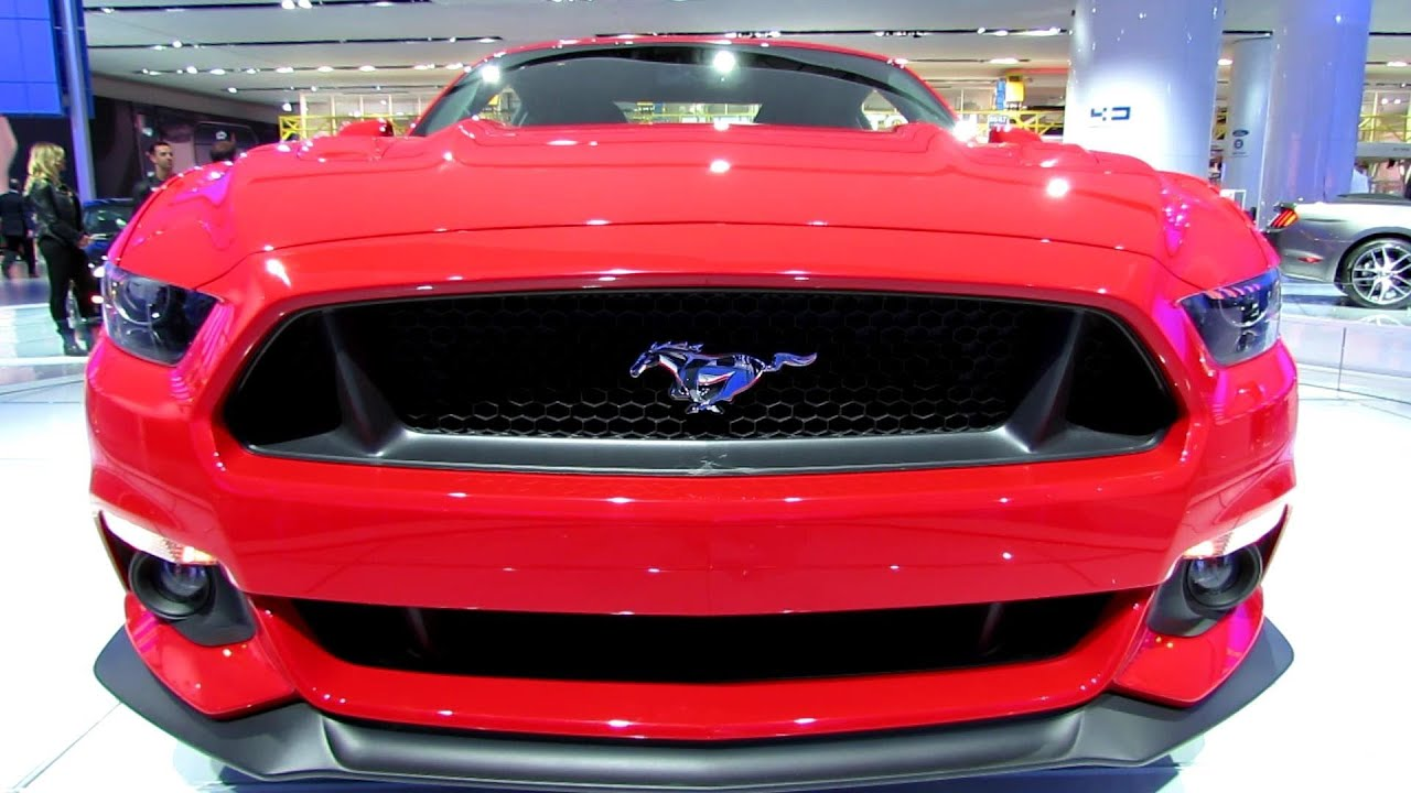 2015 Ford Mustang Gt Exterior And Interior Walkaround Debut At 2014 Detroit Auto Show Youtube