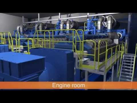 Floating Power and Water Barge (cogeneration) with reverse osmosis equipment | Wärtsilä