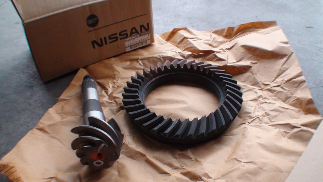 Testing 5 14 Rear Differential Gears 2003 Nissan Frontier