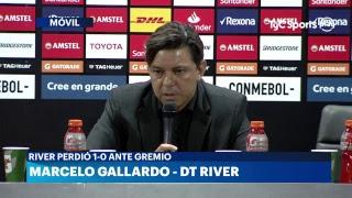Conferencia de prensa de Marcelo Gallardo