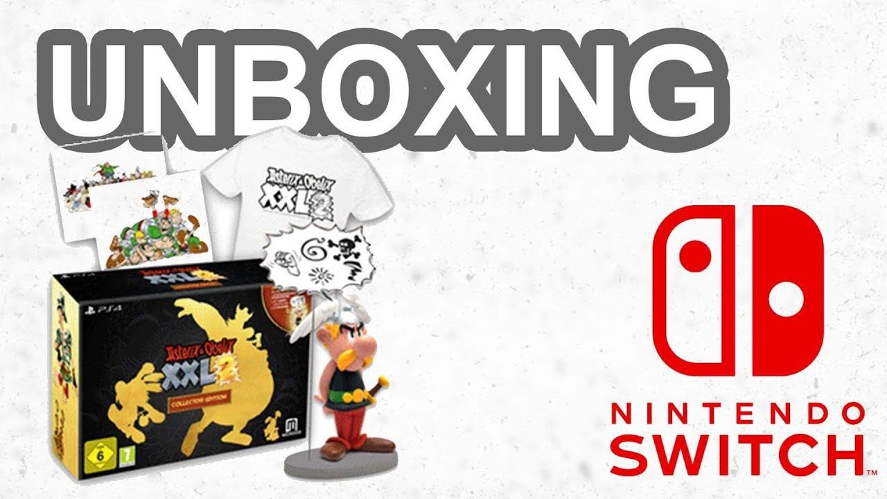 Asterix Obelix Xxl 2 Edition Collector Switch Deballage