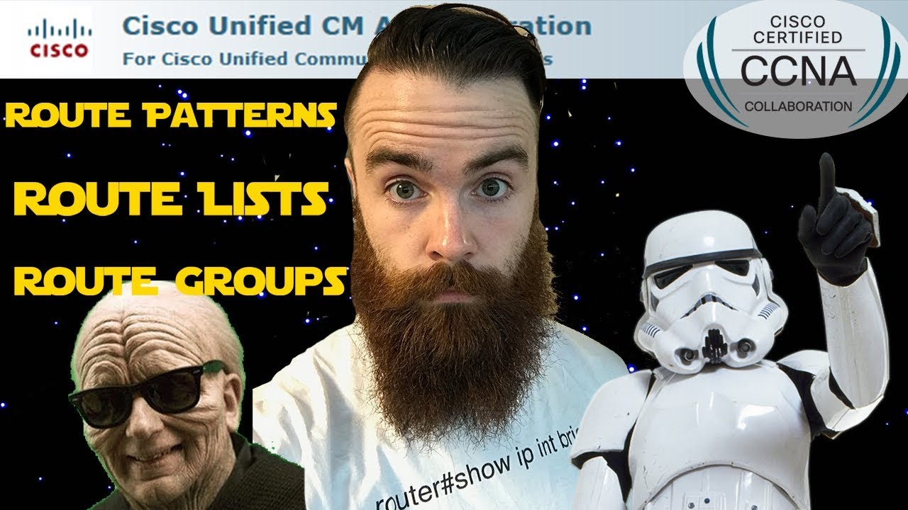 Cisco Call Manager (CUCM) - Route Groups, Route Lists, Route Patterns!! -  Part 1