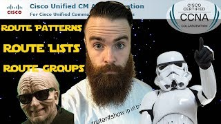 Gambar cover Cisco Call Manager (CUCM) - Route Groups, Route Lists, Route Patterns!! - Part 1