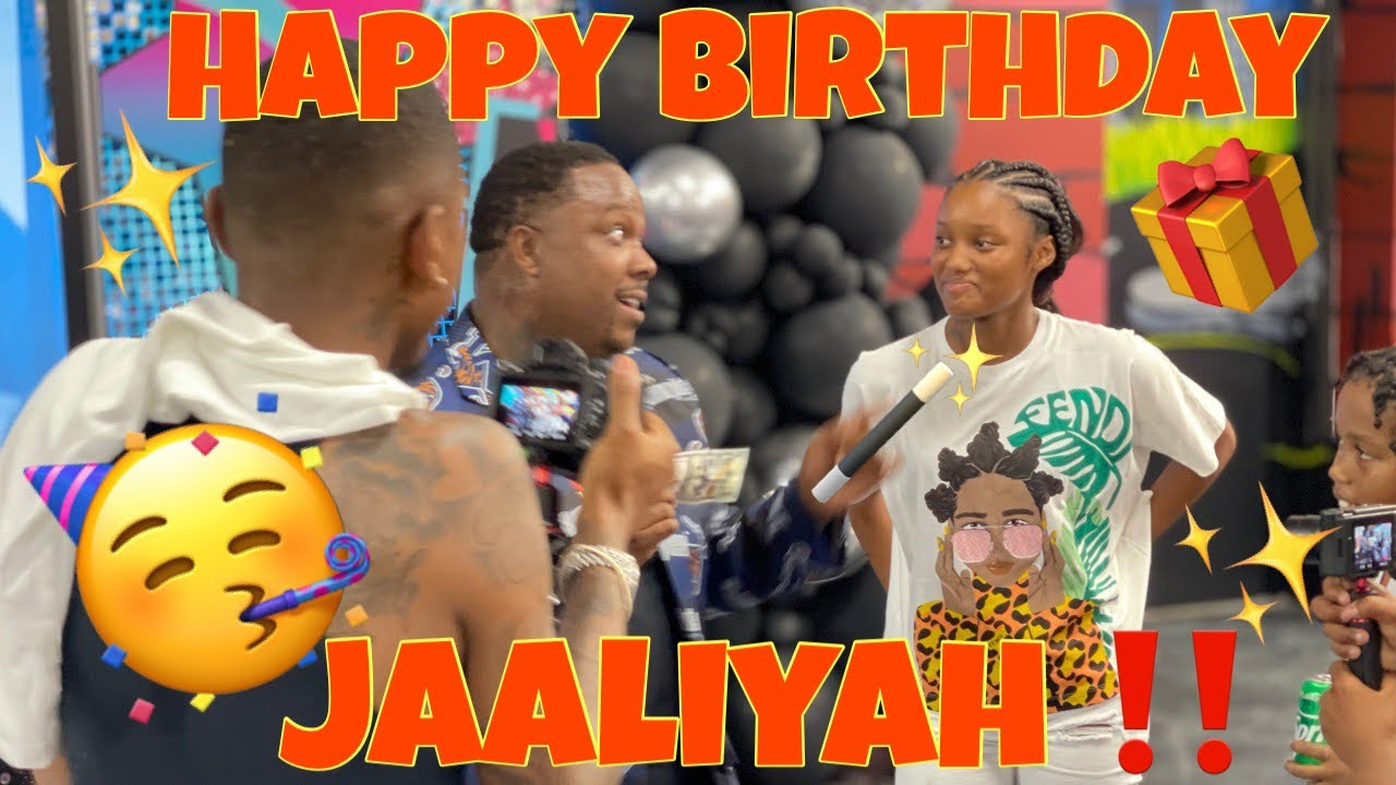WE ARE MEETING & CELEBRATING JAALIYAH'S BIRTHDAY WITH FUNNY MIKE & THE BAD KIDS‼️😱