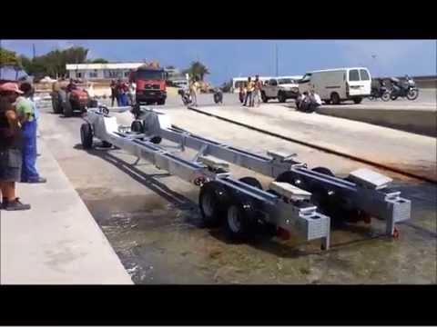 """Εργοταξιακό τρέιλερ ωφ. φορτίου 25 tn- Εταιρεία """"Λιτσάκης"""""""