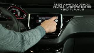 Peugeot 208 Central Multimedia JUKEBOX