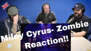 Miley Cyrus - Live from Whisky a Go Go - Zombie REACTION!! | OFFICE BLOKES REACT!!