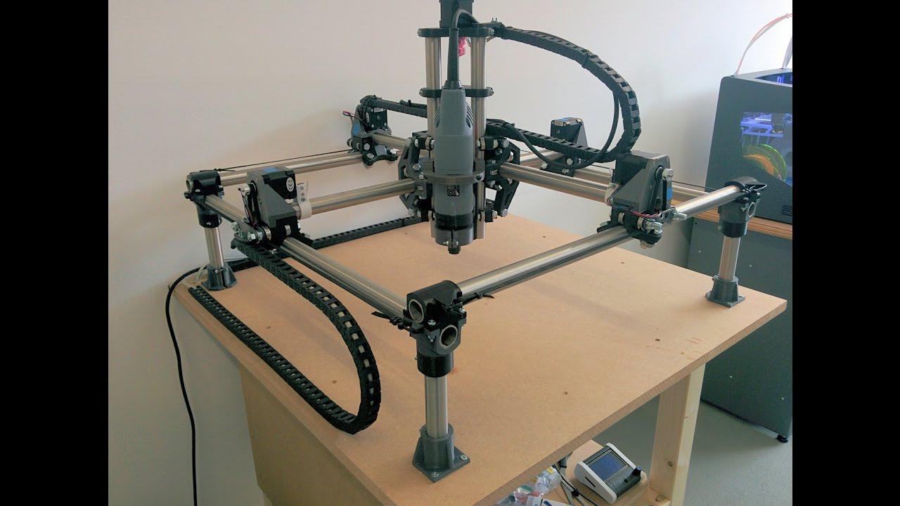 MPCNC 2D Cutting soft and hard wood