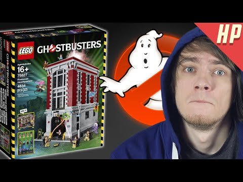 LEGO Квартира Охотников за Привидениями!