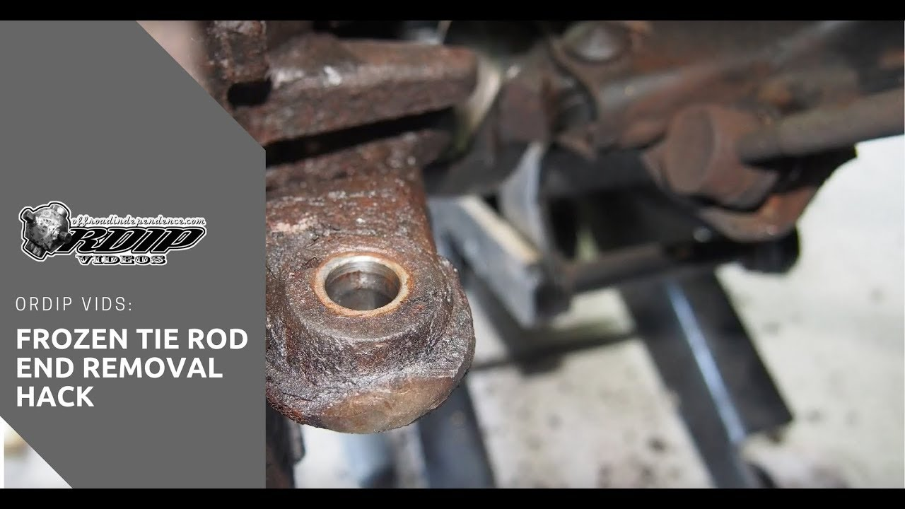 How To Get A Stuck Tie Rod End Off