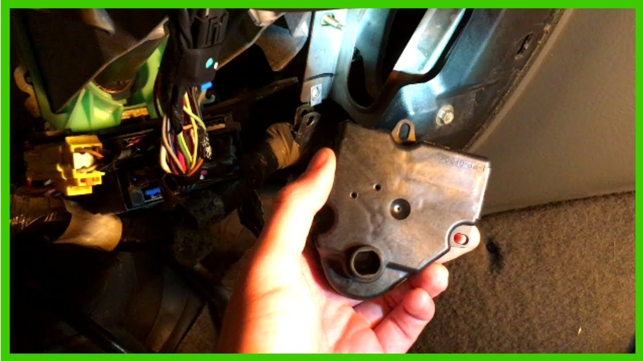 Replacing Hot Cold Blend Door Actuator Driver Side Hvac A C Reset 2002 Chevy Trailblazer Lt Youtube