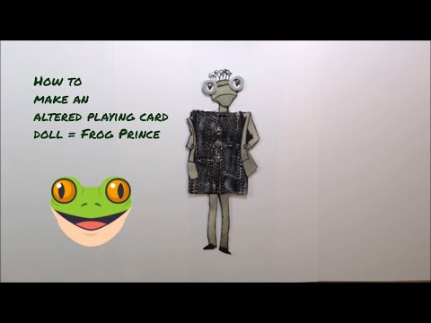 Altered Playing Card Art Dolls