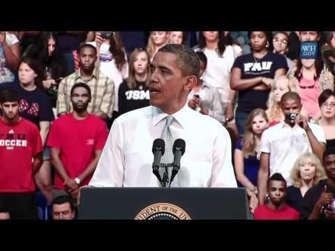 President Obama at Florida Atlantic University