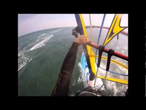 windsurf ai bagni ponterosso - YouTube