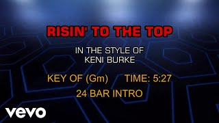 Keni Burke - Risin' To The Top (Karaoke)
