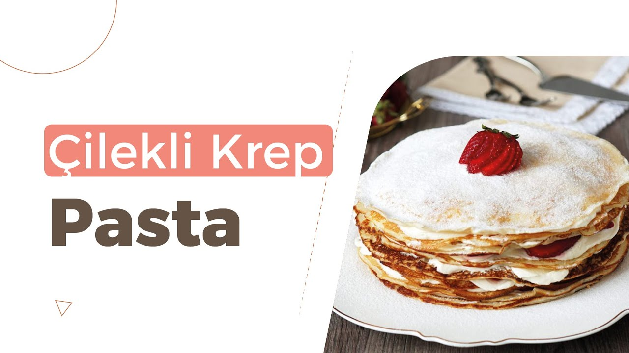 Nutellalı Krep Pasta