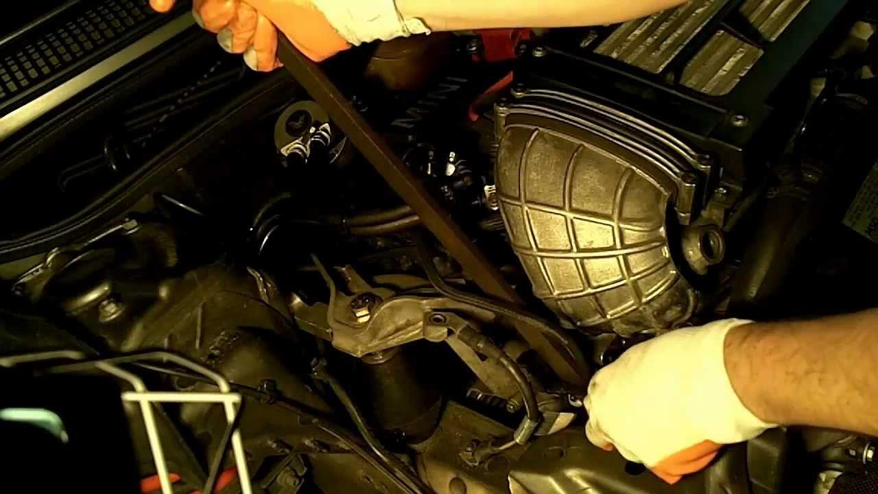 medium resolution of mini cooper s drive belt replacement models 02 06