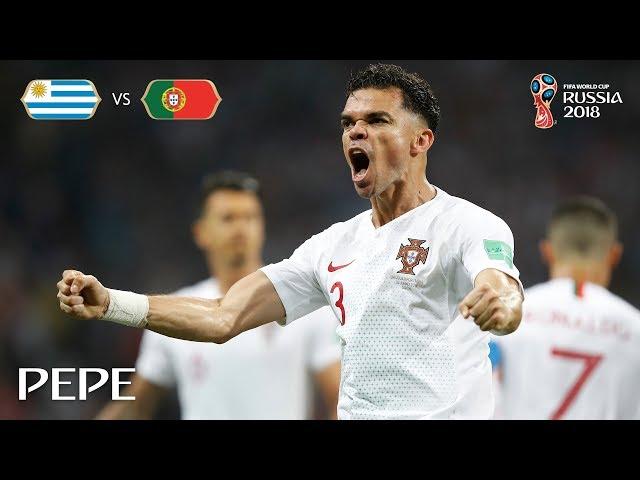 PEPE Goal  - Uruguay v Portugal - MATCH 49