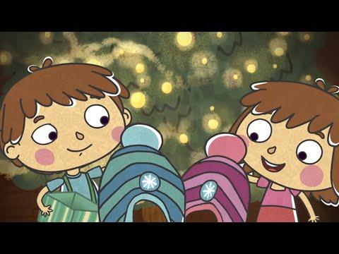 Малыши и Летающие звери - Новый год - Развивающий веселый мультфильм для детей, малышей