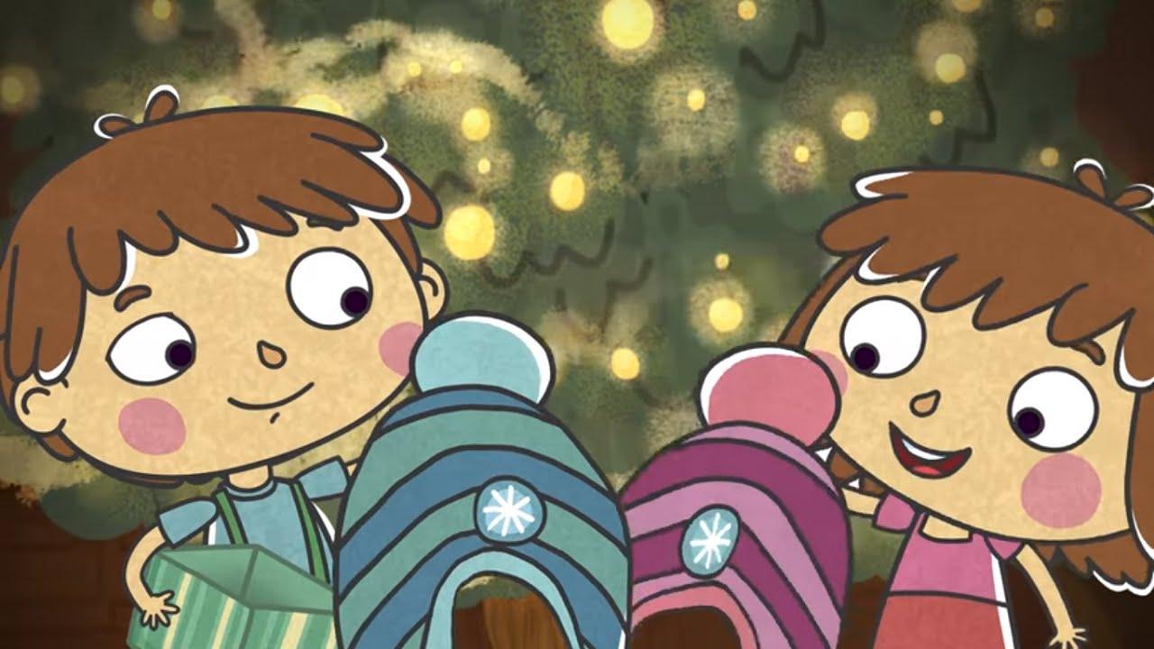 Малыши и Летающие звери - Новый год - Развивающий веселый ...