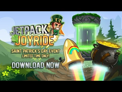 New Jetpack Joyride Event – St. Patrick's Day!