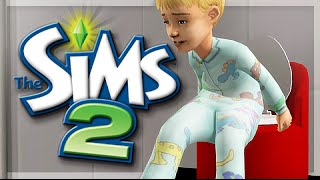 THE SIMS 2 | THE BROKE FAMILY | Part 2 — Teen Age CRIMINAL + Potty Training.