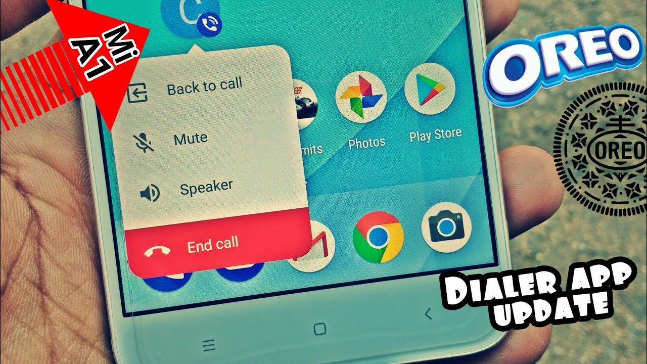 Xiaomi Mi A1 Latest Google Dialer Feature | Android Oreo 8 1