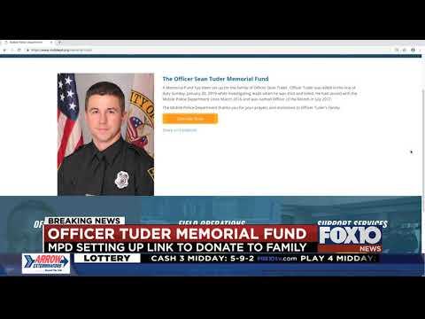 Memorial Fund for Officer Sean Tuder