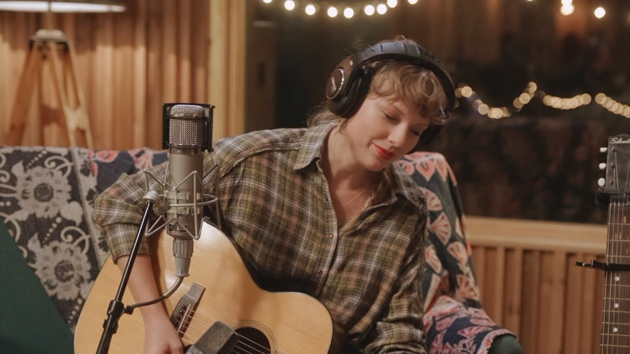 Taylor Swift - mirrorball (studio sessions)