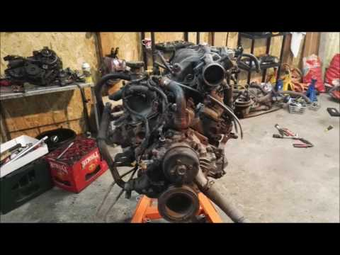 Ford Explorer 4.0 V6 OHV enigine burnt repair