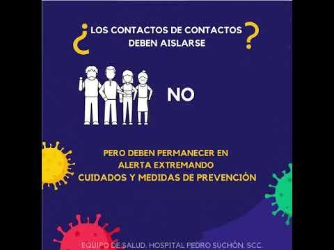 Covid-19: El Equipo de Salud del Suchón brinda información general
