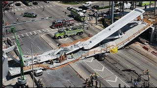 FIU bridge Collapse FOIA request VIDEO update of FIU pedestrian bridge